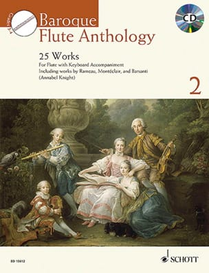 - Baroque Flute Anthology Vol. 2 - Flûte et piano - Partition - di-arezzo.fr