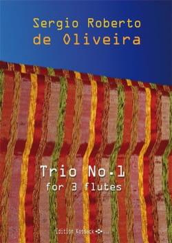 Trio n° 1 - 3 Flûtes Oliveira Sergio Roberto De Partition laflutedepan