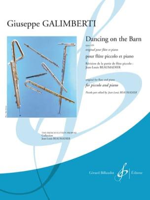 Giuseppe Galimberti - Dancing on the Barn - Piccolo and piano - Sheet Music - di-arezzo.com