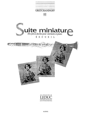 Alexandre Gretchaninov - Suite miniatura op. 145 compendio - Partitura - di-arezzo.es