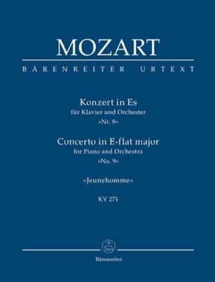 MOZART - Klavierkonzert Nr. 9 Es-Dur KV 271 - Partitur - Partition - di-arezzo.fr