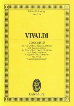Antonio Vivaldi - Konzert F-Dur - Partition - di-arezzo.fr