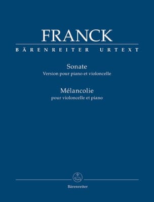 César Franck - Sonata and Melancholy - Sheet Music - di-arezzo.com