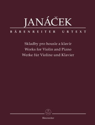 Leos Janacek - Works for violin and piano - Sheet Music - di-arezzo.com