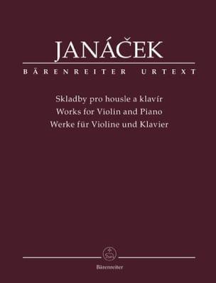 Oeuvres pour violon et piano - JANACEK - Partition - laflutedepan.com