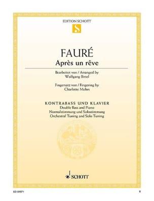 Gabriel Fauré - After a dream - Sheet Music - di-arezzo.co.uk