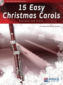noëls - 15 Easy Christmas Carols - Bassoon and piano - Partition - di-arezzo.fr