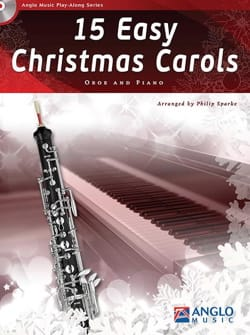 15 Easy Christmas Carols - Oboe and piano - Noëls - laflutedepan.com