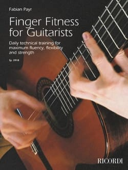 Finger Fitness for Guitarists Fabian Payr Partition laflutedepan