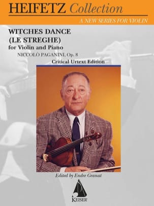 Witches Dance, op. 8 - Violon et piano - laflutedepan.com