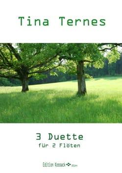 3 Duos - 2 Flûtes - Tina Ternes - Partition - laflutedepan.com