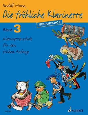 Rudolf Mauz - Die fröhliche Klarinette Bd 3 - Sheet Music - di-arezzo.co.uk