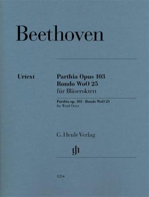 Ludwig van Beethoven - Parthia, op. 103 / Rondo WoO 25 - Parties séparées - Partition - di-arezzo.fr