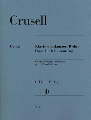 Bernhard Henrik Crusell - Concerto pour clarinette, op. 11 - Partition - di-arezzo.fr