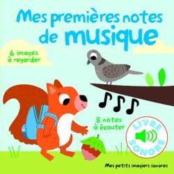 Marion Billet - mes premières notes de musique - Partition - di-arezzo.fr