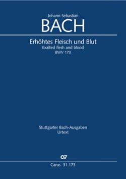 BACH - Cantate BWV 173 - Conducteur poche - Partition - di-arezzo.fr