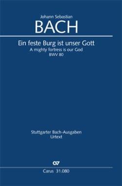 Cantate BWV 80 - Conducteur poche - BACH - laflutedepan.com