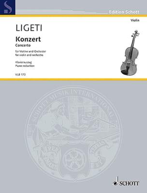 Concerto - Violon et piano - György Ligeti - laflutedepan.com