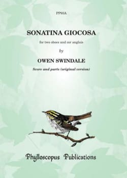 Sonatina Giocosa - Trio 2 Ob. English Hn - laflutedepan.com