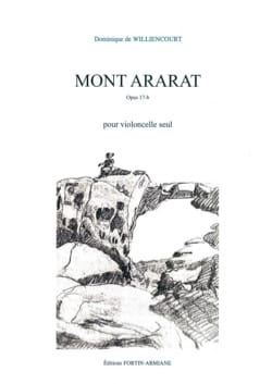 Dominique de Williencourt - Mount Ararat - Cello alone - Sheet Music - di-arezzo.com