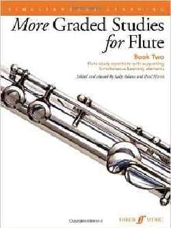 Harris Paul / Adams Sally - Mehr benotete Studien Buch 2 - Flöte - Noten - di-arezzo.de