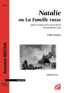 Natalie, Ouverture - Conducteur - Anton Reicha - laflutedepan.com