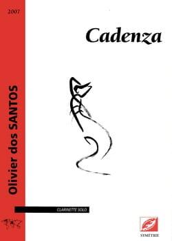 Santos Olivier Dos - Cadenza - Clarinet only - Sheet Music - di-arezzo.com