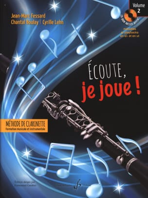Jean-Marc FESSARD, Chantal BOULAY, Cyrille LEHN - Listen, I'm playing! - Volume 2 - Sheet Music - di-arezzo.com