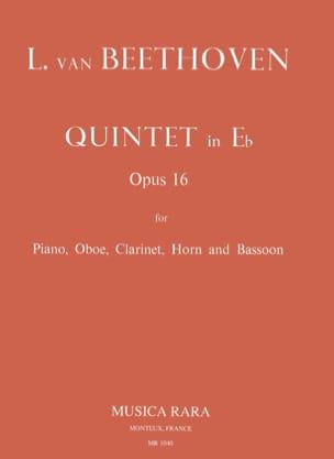 Quintette en Mi bémol, Opus 16 - BEETHOVEN - laflutedepan.com