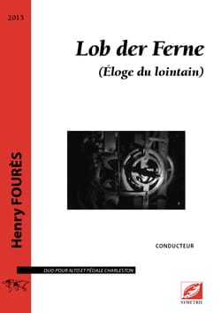 Henry Fourès - Lob der Ferne - Violin and Charleston - Sheet Music - di-arezzo.co.uk