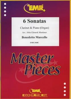 6 Sonatas - Benedetto Marcello - Partition - laflutedepan.com