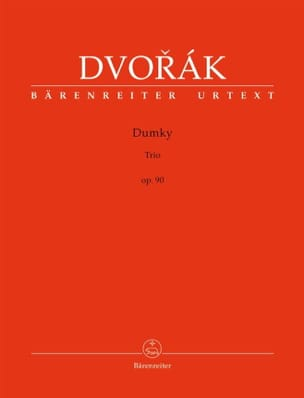 DVORAK - Dumky Trio, op. 90 - Sheet Music - di-arezzo.co.uk