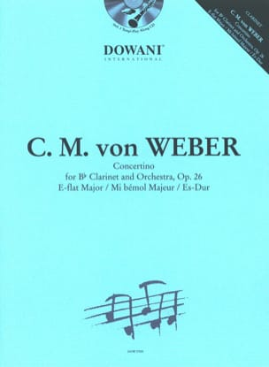 Carl Maria von Weber - Concertino in E Flat Major - Opus 26 - Sheet Music - di-arezzo.com