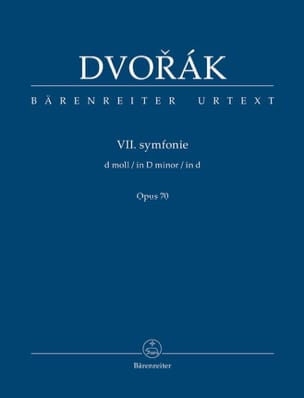 DVORAK - Symphonie n° 7 - Conducteur - Partition - di-arezzo.fr