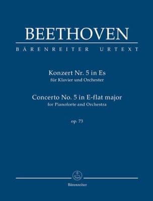 Concerto pour piano n° 5, op. 73 - Conducteur - laflutedepan.com