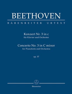 BEETHOVEN - Concerto pour piano n° 3, op. 37 - Conducteur - Partition - di-arezzo.fr