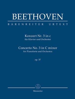 Concerto pour piano n° 3, op. 37 - Conducteur BEETHOVEN laflutedepan