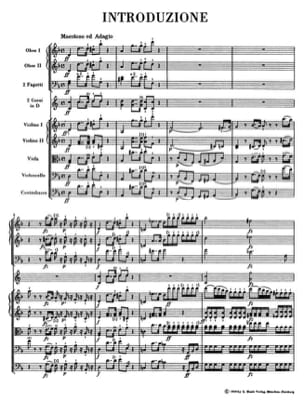 BEETHOVEN - Concerto pour piano n° 2, op. 19 - Conducteur - Partition - di-arezzo.fr