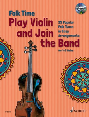Folk Time - Play Violin and Join the Band - Violon - Partition - di-arezzo.fr
