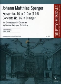 Concerto N° 16 en Ré Majeur - Contrebasse et piano - laflutedepan.com