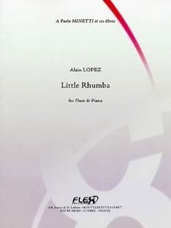 Little Rhumba - Alain Lopez - Partition - laflutedepan.com