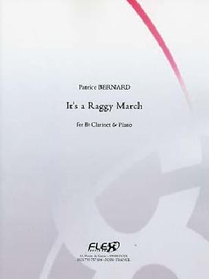 It's a Raggy March - Patrice Bernard - Partition - laflutedepan.com