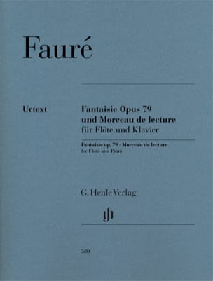 Gabriel Fauré - Fancy Opus 79 and Playback Piece for Flute and Piano - Sheet Music - di-arezzo.co.uk