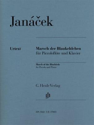Leos Janacek - Marsch der Blaukehlchen - Piccolo et piano - Partition - di-arezzo.fr