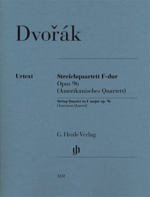 Antonin Dvorak - String quartet, op. 96 American - Separate Parts - Sheet Music - di-arezzo.co.uk