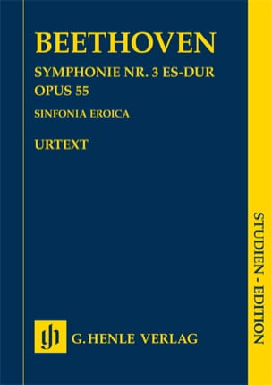 BEETHOVEN - Symphonie n° 3, op. 55 - Conducteur - Partition - di-arezzo.fr