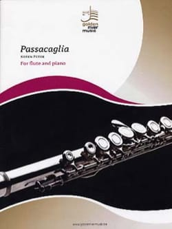 Passacaglia - Peter NOTEN - Partition - laflutedepan.com
