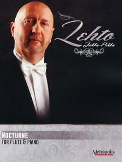Jukka Pekka LEHTO - Nocturne - Partition - di-arezzo.fr