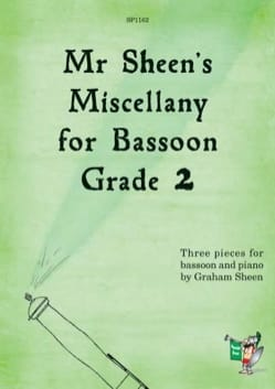 Graham Sheen - Mr Sheen's Miscellany for Bassoon - Grade 2 - Sheet Music - di-arezzo.com
