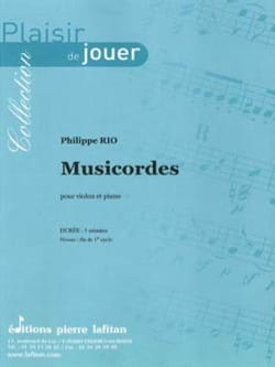 Philippe Rio - Musicordes - Sheet Music - di-arezzo.com